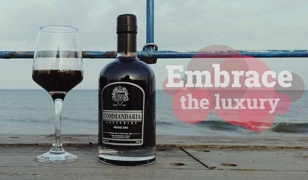 Olympus Winery luxurious Commandaria wine